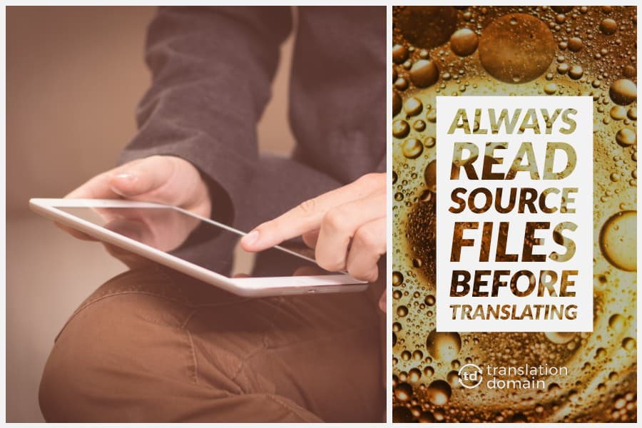 thumbnail showcasing the translation technique of reading source files multiple times